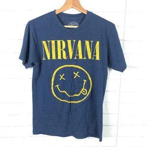Nirvana Band Concert Graphic Tee